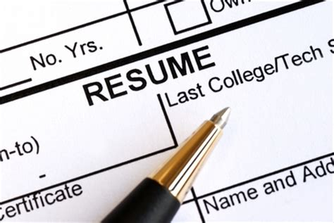 How to show old jobs on resume
